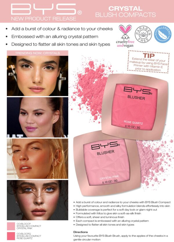 BYS CO BLOCRQ Blusher