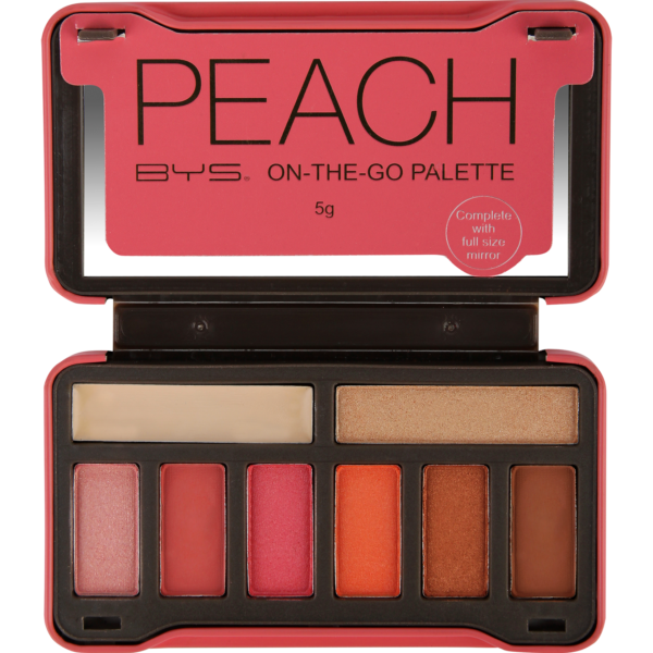BYS Cosmetics Peach On-the-Go Palette
